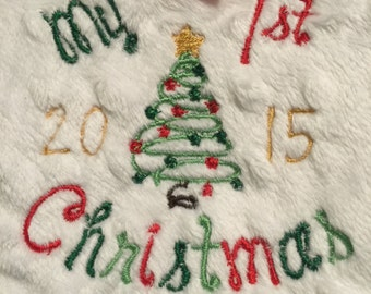 My 1st CHRISTMAS Upgraded Embroidery!