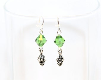 Pinecone Earrings - Christmas Earrings - Winter Earrings - Nature Earrings