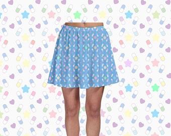 Happy Pills Skater Skirt