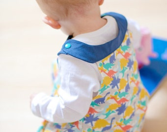 Dinosaur Dress - Baby / Toddler Dress - Kid Dino Clothes