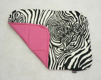 ZEBRA - Universal pad for dog, crate mat, traveling dog bed