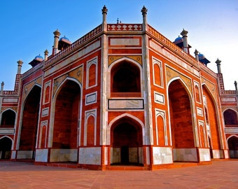 India photography, architecture, Human's Tomb, wall art, travel photography