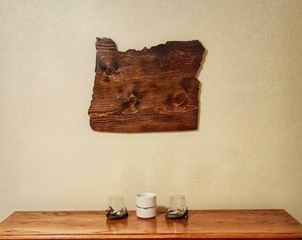 Oregon, Oregon Sign, Oregon Wood Sign, Oregon State Sign, Oregon Wall Art, Wooden State, Oregon Home Sign, Wooden State Cutout, State Cutout