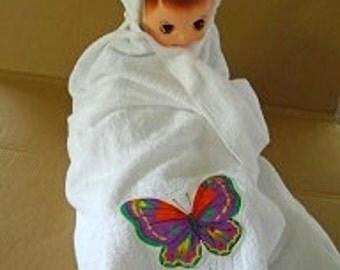 Hooded Baby Bath Towel