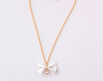 HOPE Necklace for Girls in Ivory