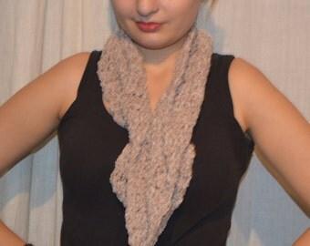 Infinite scarf - light brown