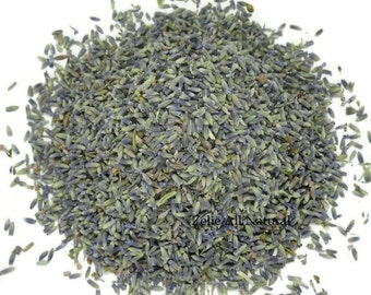 Premium Dried Lavender Buds - Dried Lavender for Wedding Sachet - Relaxing Aromatherapy Lavender Herb Bath.