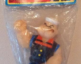 Vintage Popeye Vinyl Squeaker Toy