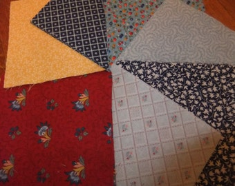 """5 1/2"""" by 5 1/2"""" Cotton Quilting Squares, Charm Pack, Crafting"""
