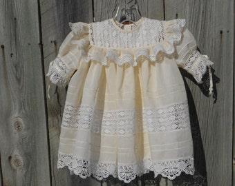 Heirloom Dress and Bonnet