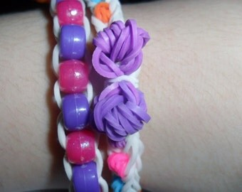Bow and Beaded bracelet