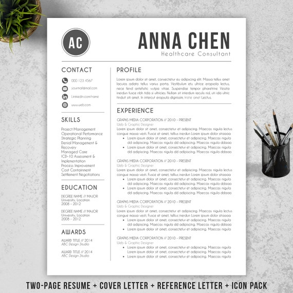 resume template cv template cover letter for ms by resumebook