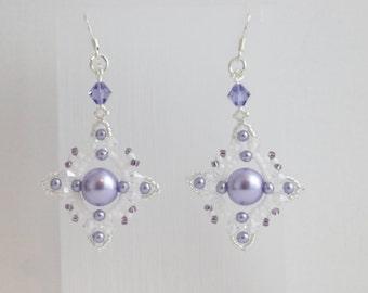 Intricate Beaded  Earrings