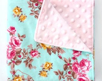 Minky Comforter Blanket / Blankie / Baby Minky Blanket / Child Minky Blanket / Baby Comforter / Minky Comforter / Security Blanket