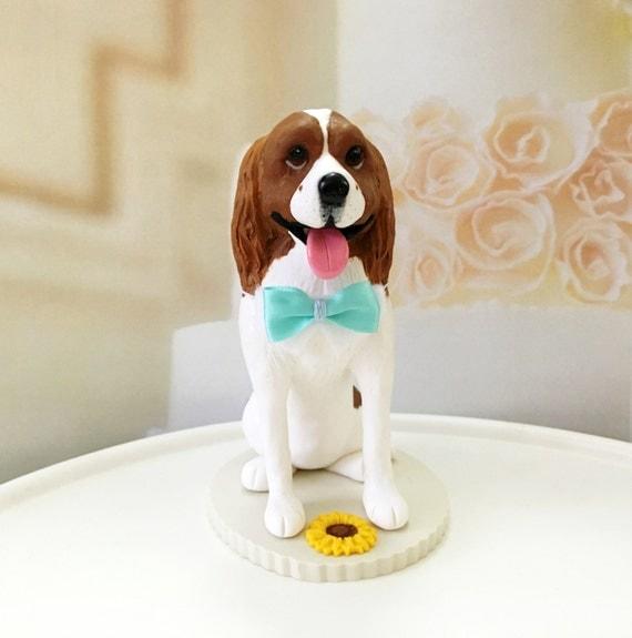 Custom King Charles Spaniel Cake Topper, Cavalier King Charles Spaniel ...