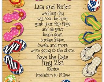 Flippin' Out Pool Invitation, Backyard Party, Summer Celebration, Splash, Birthday Bash Invite, Announcement,Original Digital Design IV150