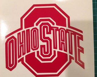 Ohio State University Buckeyes vinyl decal - Available in ALL colors/sizes!