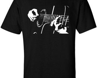 Guitar Shirt, Guitarist Shirt, Vintage Guitar Shirt, Guitar Player T-Shirt