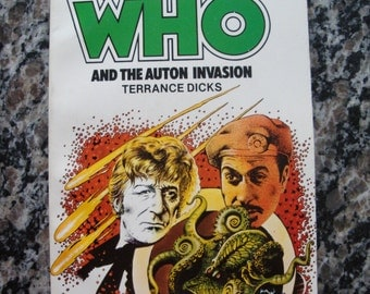 Doctor Who - And the Auton Invasion- Target Paperback Book