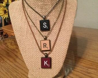 Scrabble Tile Necklace!
