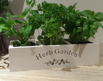 Indoor Herb Planter Impressive Herb Planter  Etsy Design Inspiration