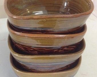 Square bowls