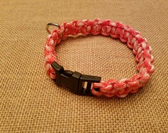 Tennessee Vols Paracord Dog Collar