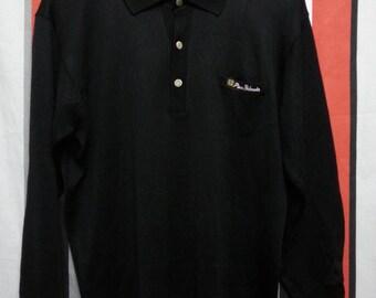 Vintage 60's-70's//Pierre Balmain//LongSleeve Collared Shirt//Size L//