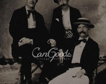 The Gentlemen, ca. 1930s, DIGITAL DOWNLOAD