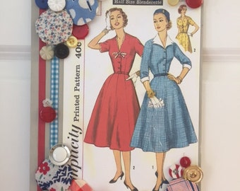 Vintage Sewing Collage