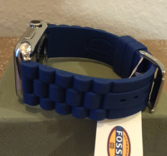 how to adjust fossil watch band