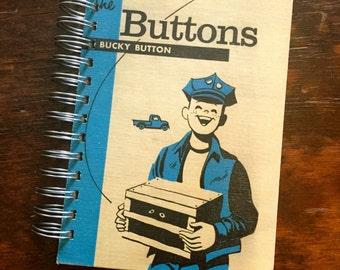 Vintage Book Journal - The Buttons