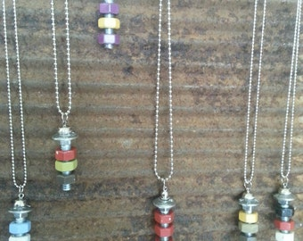 Nuts and Bolts Pendants