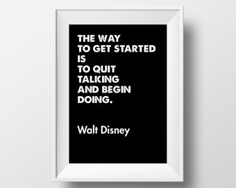 Motivational Print, Office Art, Inspirational Print, Office, Productivity, Office Gifts, Office Prints, Wall Art, Wall Decor, Quotes