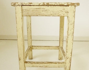 True antique milking stool from the German land-side, 1900...CHARMANT!