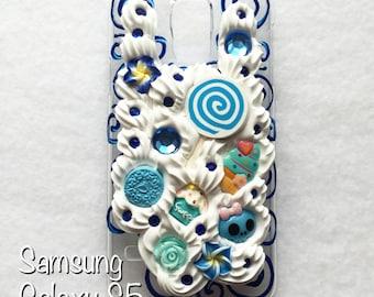 FITS Samsung Galaxy S5 Decoden Case, S5 Phone Case, Cute Phone Case, Kawaii Decoden Case
