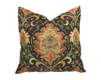 "Decorative Throw Pillow Cover 18""x18"" or 20""x20"" or 22""x22"", Lumbar Pillow, Accent Pillow."