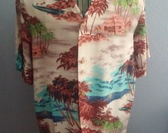 "Vintage Aloha ""Made In Hawaii"" shirt"
