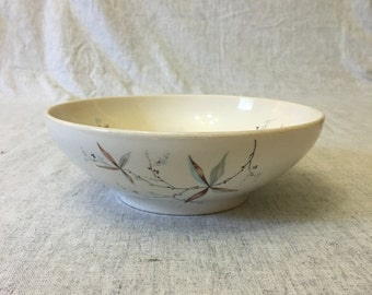 Vintage Carefree Syracuse Finesse Round Serving Bowl, Mid Century Dishes
