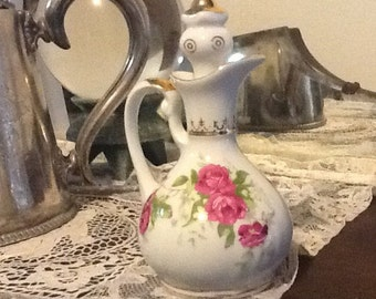 Vintage vinegar/ oil jar Maruku  made in Japan late 1940 s to 1950s