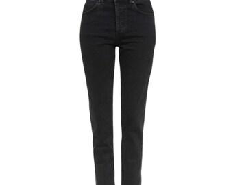 Black High Waisted Jeans Sz 25