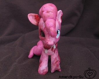 MLP Custom Toy - Zombie Pinkie Pie