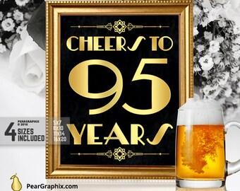 95th Birthday Party Etsy