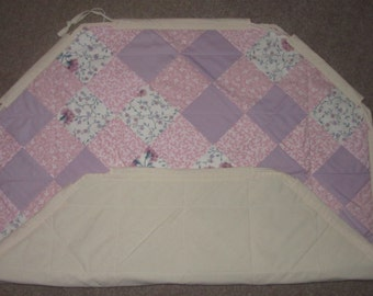 Custom Quilted Play Mat and Toy Sack
