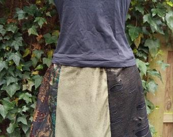 6-Courses skirt Green