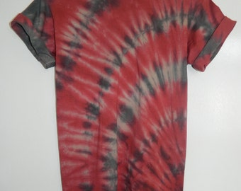Tie Dye T-Shirt acid wash T-shirt hipster Retro 80s 90s spiral men women unisex top