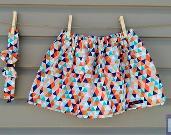 READY-to-go/READYTOGO - skirt and headband - all - girl (baby and toddler) to small triangles