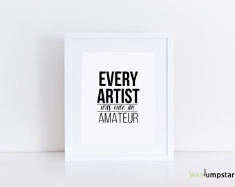 Quote for Artist, Artist Quotes, Creativity Quote, Creativity Print, Creativity Word Art, Gift for Architect, Artist Gift, Creativity Poster