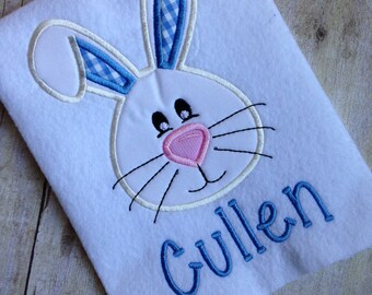 Cutest Little Bunny!! Easter Bunny Applique Shirt or Onesie