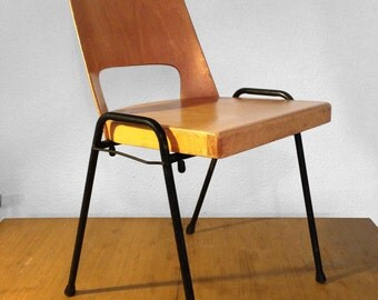 Set of 2 chairs Baumann 50s - stackable